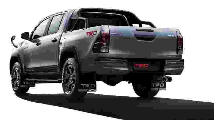 Toyota Hilux Black Rally  - Divulgação - Divulgação