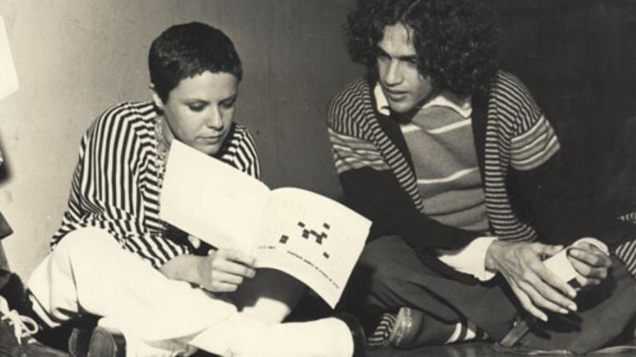 Elis Regina e Caetano Veloso - Reprodução