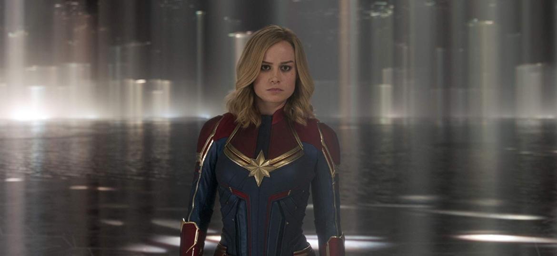 """Brie Larson em """"Capitã Marvel"""" - Divulgação"""