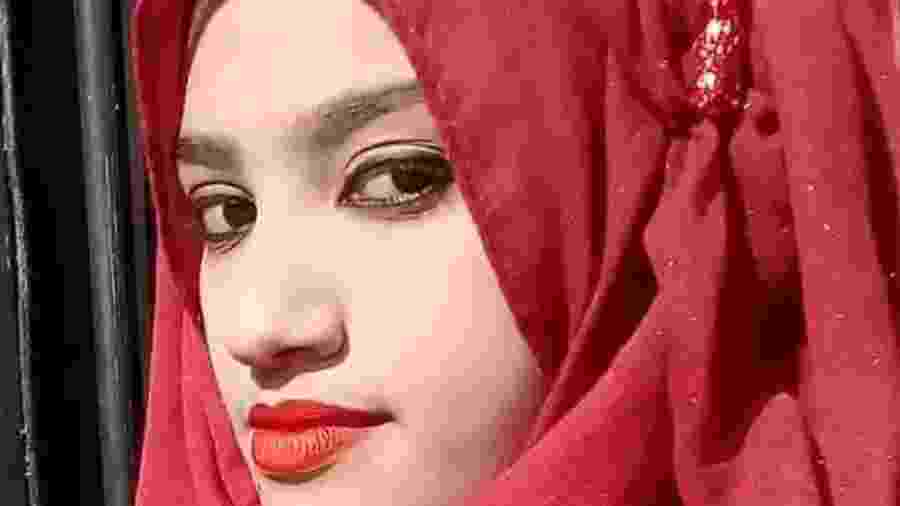 Nusrat Jahan Rafi, de 19 anos - Arquivo pessoal
