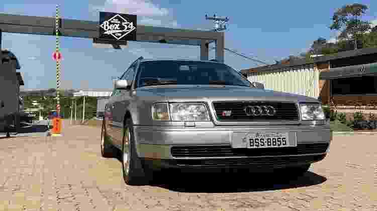 Audi S4 Avant de Ayrton Senna - Reprodução/Box 54 - Reprodução/Box 54