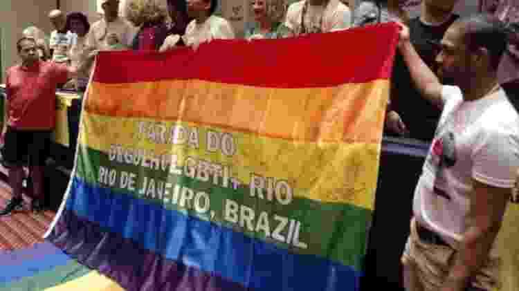 Entidades e participantes também celebram os 40 anos do movimento LGBTI no Brasil - Pauline Almeida/UOL