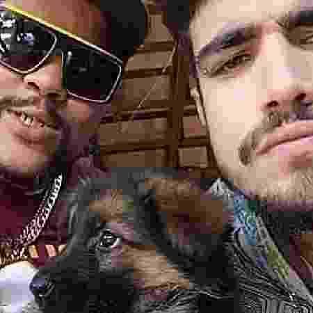 """Caio Castro torce para Babu no """"BBB"""" - Reprodução/Instagram"""