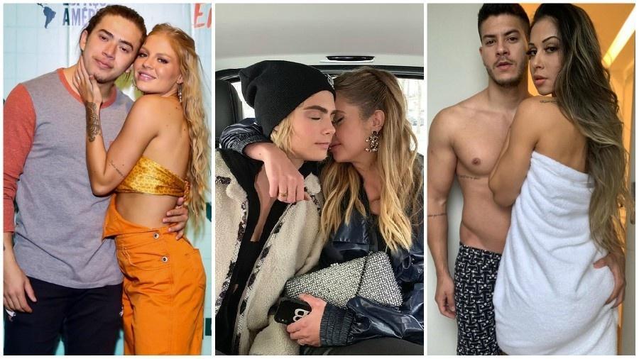 Whindersson e Sonza, Cara e Ashley, Arthur e Mayra: casais que se separaram na quarentena - Instagram/Reprodução