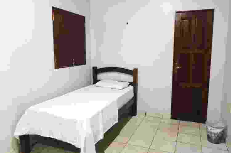 Quarto de hotel em Macapá que está recebendo pessoas em situação de rua durante a pandemia - Gabriel Flores/Prefeitura Macapá - Gabriel Flores/Prefeitura Macapá