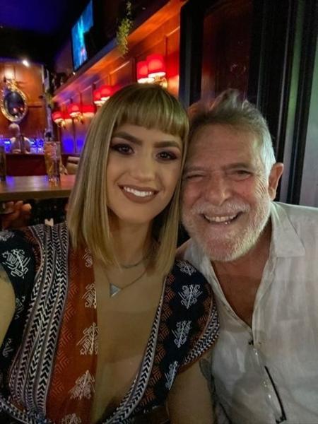 Carol Junger e José de Abreu moram há meses na Nova Zelândia - Arquivo pessoal