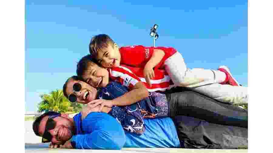 Juliana Paes comemora em família o período de férias dos filhos - Reprodução/Instagram