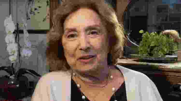 Eva Wilma no Conversa com Bial  - Reprodução/vídeo - Reprodução/vídeo