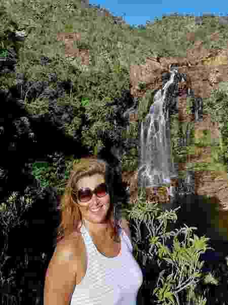 Renata Campos, que divide casa na Serra do Cipó - Arquivo pessoal - Arquivo pessoal
