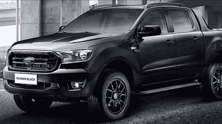 Ford Ranger Black - Divulgação - Divulgação