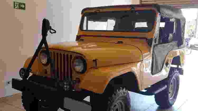Jeep Willys - Felipe Carvalho/UOL - Felipe Carvalho/UOL