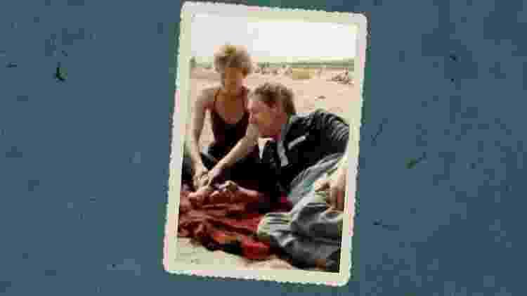 Pat tentou parar de beber quando começou a namorar Brian - Arquivo pessoal / BECKY ELLIS HAMILTON - Arquivo pessoal / BECKY ELLIS HAMILTON