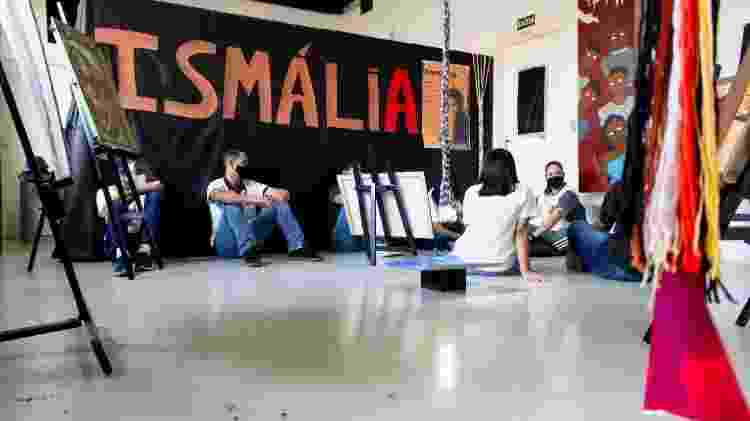 Djamila Ribeiro e Emicida inspiram mostra imersiva na periferia de SP - Divulgação - Divulgação