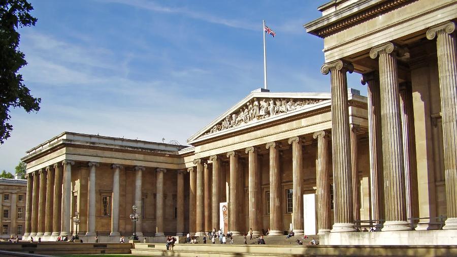Museu Britânico de Londres - Reprodução