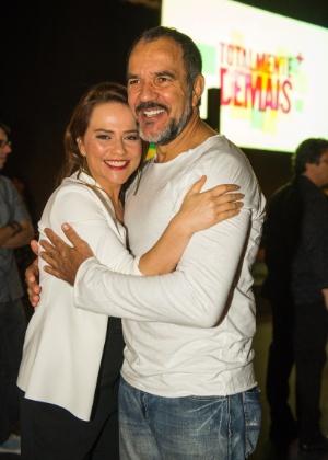 """Viviane repete parceria com Humberto Martins: """"A gente se entende no olhar"""" - Tv Globo Divulgação"""