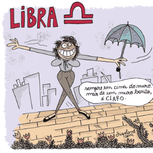 Charge Chiquinha - Libra - Chiquinha