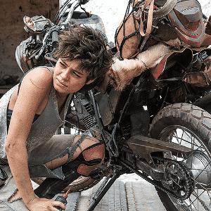 """Sophie Charlotte faz Severina e usa motos Yamaha em """"Reza a Lenda"""" - Divulgação"""