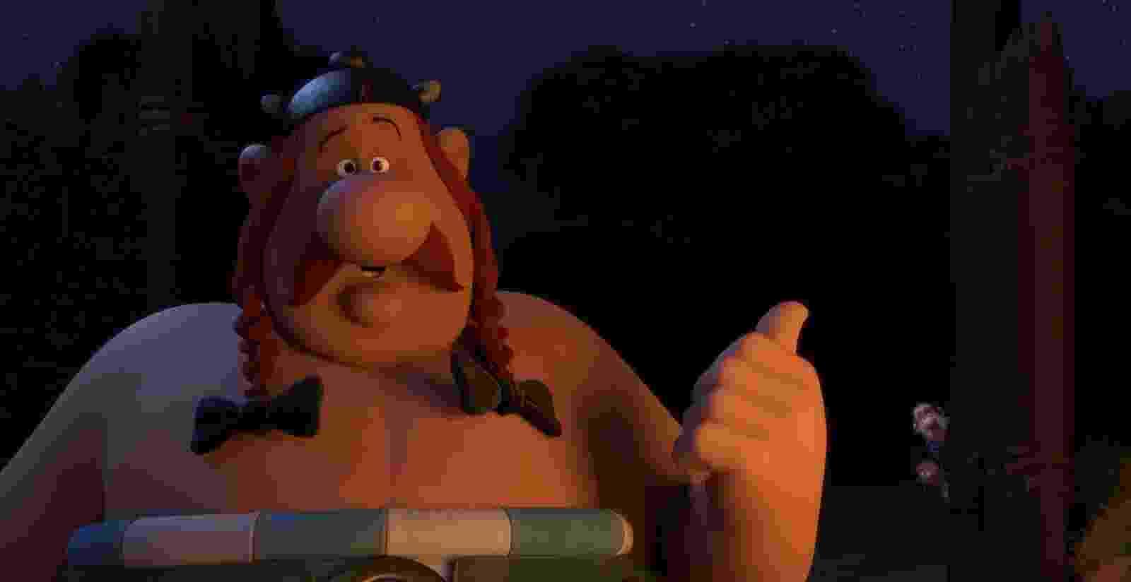 """Cena do Filme """"Asterix e o Domínio dos Deuses"""" - Divulgação"""