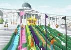 Praça famosa de Londres pode ganhar espaços para jogar golfe; veja - Divulgação/The London Design Festival