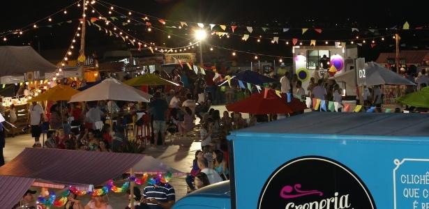Festa junina do Américas Shopping - Anderson Fernandes/Photo Stillo