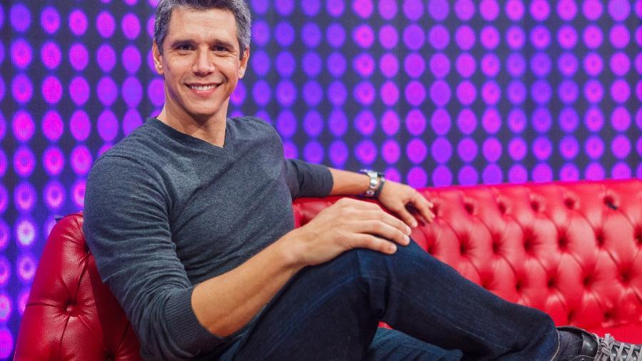 O apresentador Márcio Garcia - Artur Meninea/TV Globo