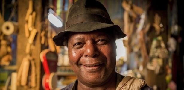 Para viver Chico Criatura, Gésio Amadeu se inspirou em dono de armazém que fez parte de sua infância em Conceição do Formoso (MG) - Caiuá Franco/TV Globo