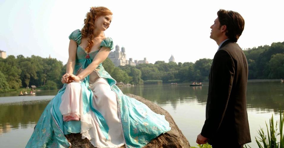 """Cena do filme """"Encantada"""" (2007), de Kevin Lima"""