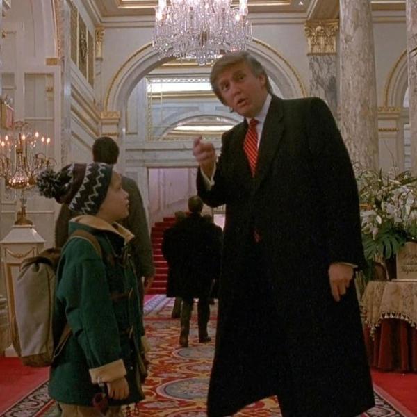 Trump em cena de 'Esqueceram de Mim 2 - Perdido em Nova York'