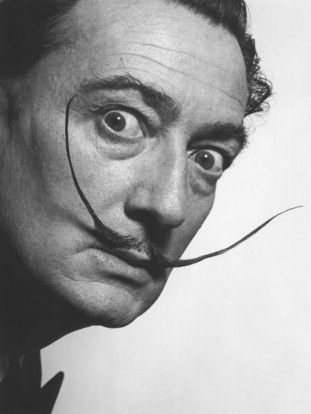 O cineasta Salvador Dalí - Reprodução