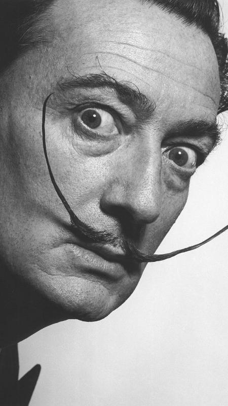 O artista Salvador Dalí - Reprodução