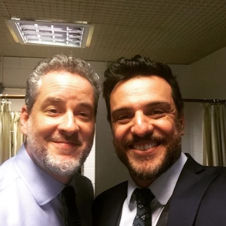 Dan Stulbach e Rodrigo Lombardi - Reprodução/Instagram