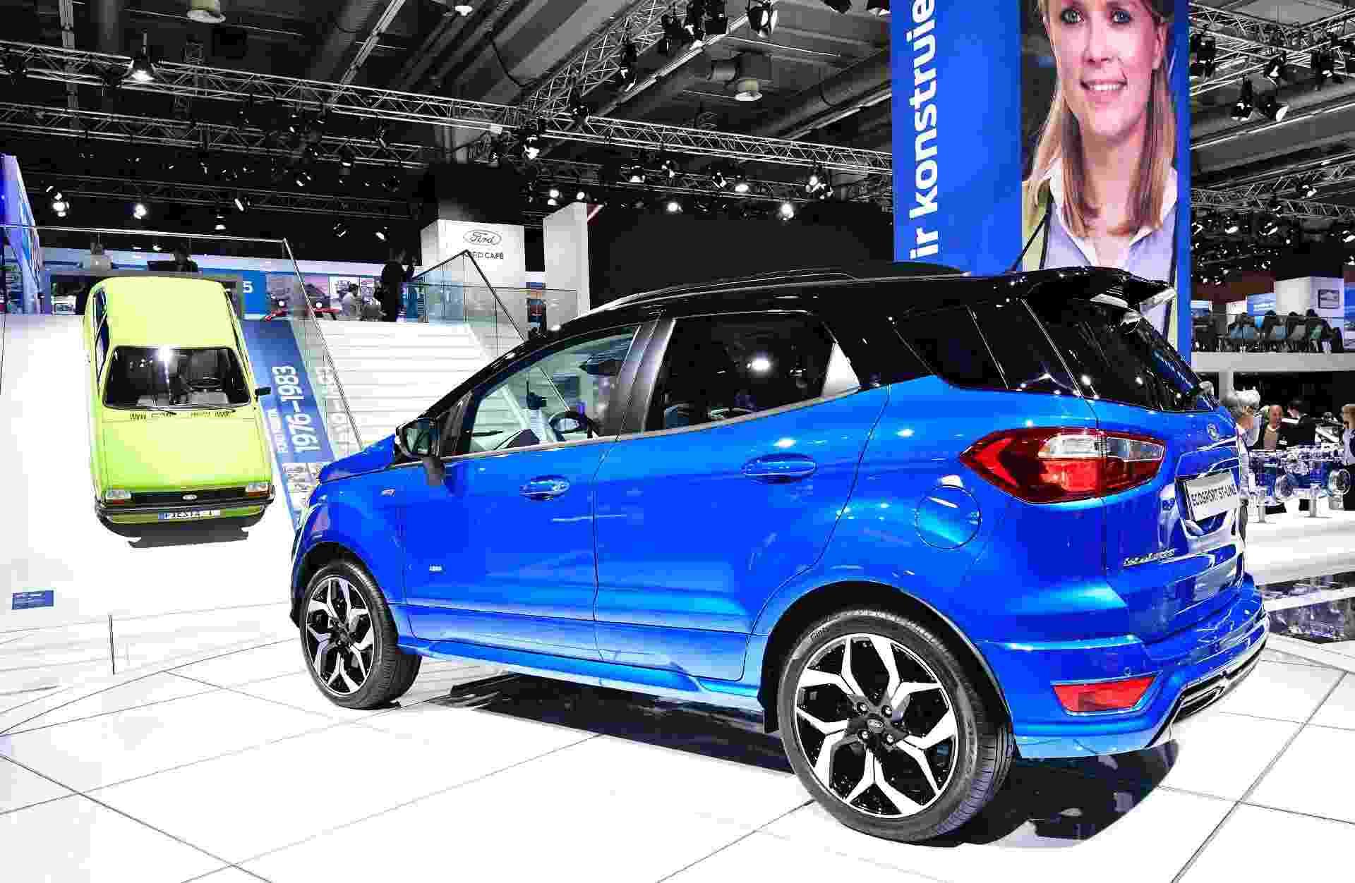 Ford EcoSport europeu é vendido sem o estepe na tampa traseira - Tobias Schwarz/AFP