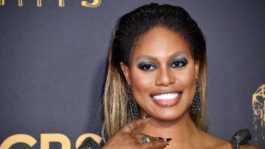 Laverne Cox no Emmy Awards - Getty Images