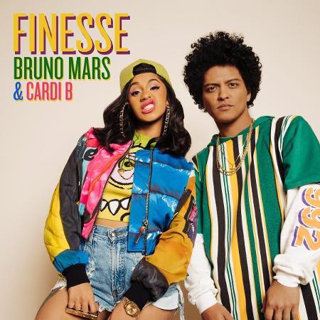 Bruno Mars e Cardi B em remix de Finesse - Divulgação
