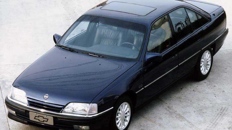 Chevrolet Omega: para muitos, o melhor carro já fabricado no Brasil. GM jogaria história fora se abandonasse o país - Arquivo/Folha de S. Paulo