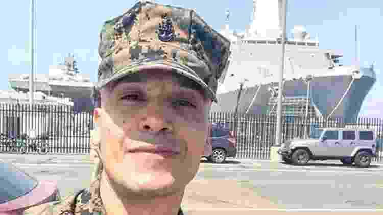 As fotos do militar americano Juan Avalos foram usadas por 'Paul Richard' para aplicar um golpe - BBC - BBC