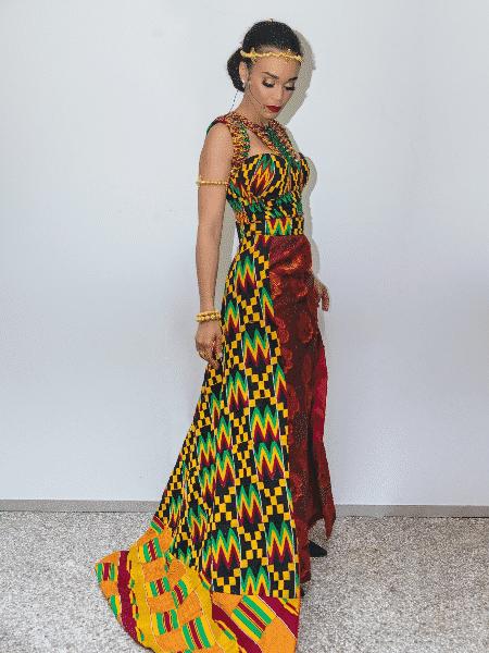 A atriz Pearl Thusi que estrelará a primeira série da Netflix na África - Reprodução