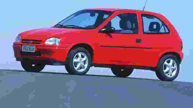 Chevrolet Corsa - Divulgação - Divulgação