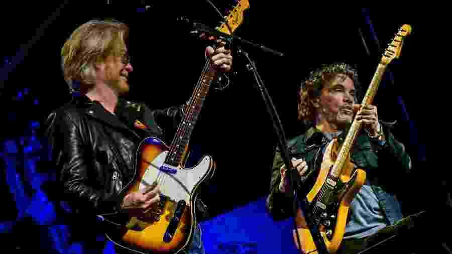 Daryl Hall e John Oates, que fazem primeiro show no Brasil - Divulgação