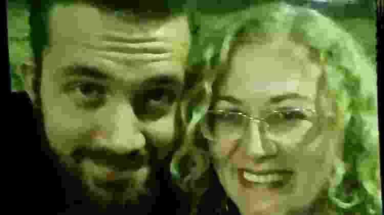 """Adler, 28, e a mãe, a cabeleireira Ana Cardinale, 53. """"Ele não se despediu"""" - Arquivo Pessoal"""