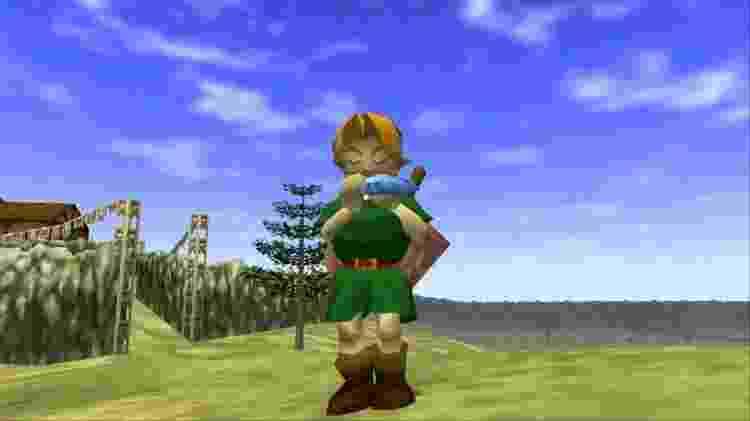 The Legend of Zelda: Ocarina of Time - Reprodução - Reprodução