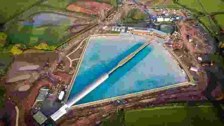 O complexo ocupa uma área de mais de 300 mil metros quadrados - Global Shots /Divulgação