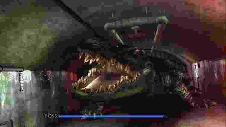 Cuidado com o crocodilo -- e com a labirintite! - Divulgação
