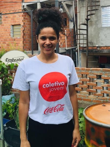 Flávia Rodrigues co-criou o aplicativo Quero Trampo para mapear oportunidades de emprego em Paraisópolis - Arquivo Pessoal