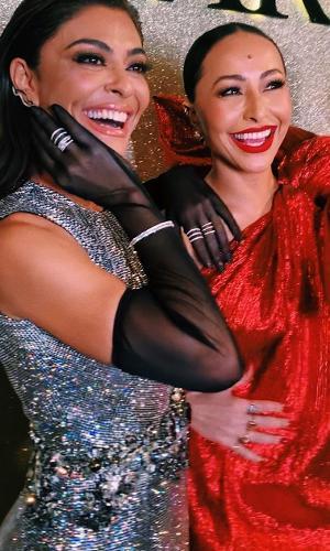Juliana Paes e Sabrina Sato