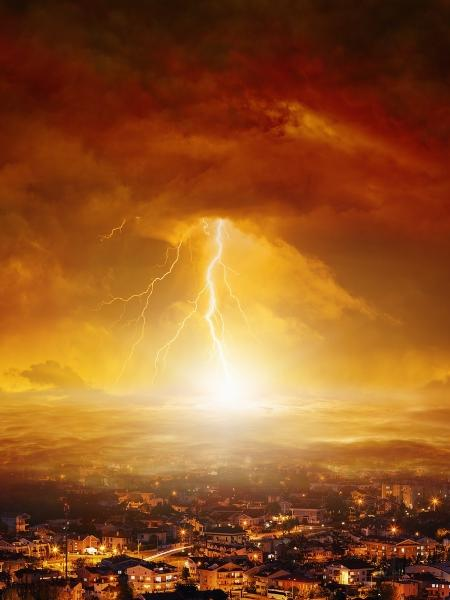 Xangô se manifesta em raios e trovões - Ig0rZh/Getty Images/iStockphoto