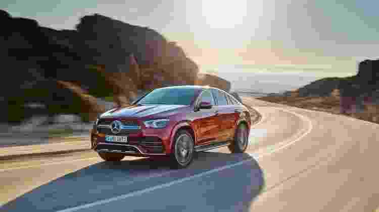 Mercedes-Benz GLE Coupé 2020 - Divulgação - Divulgação