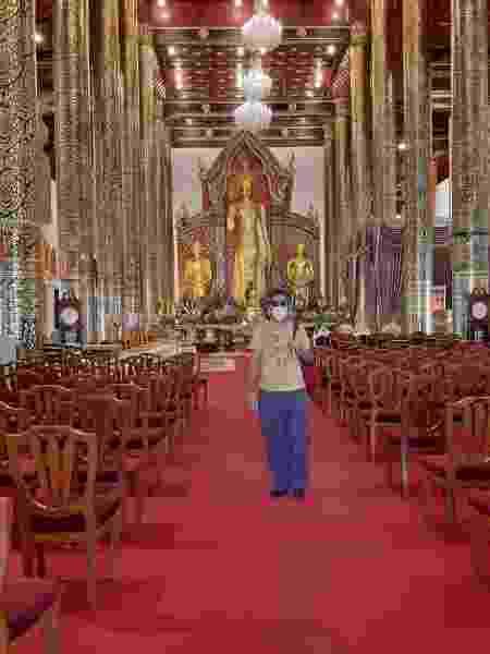 Danilo Lima foi passar as férias em Bangcoc, na Tailândia - Danilo Lima