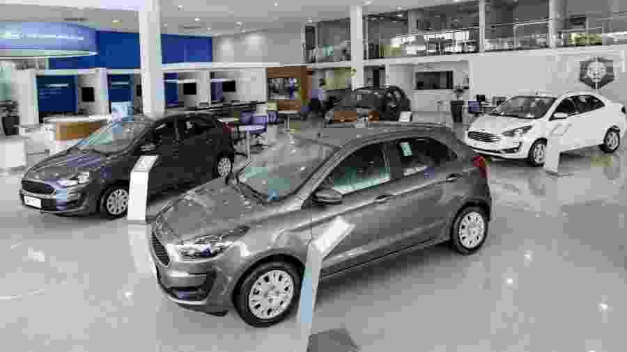 Concessionária Ford - Divulgação