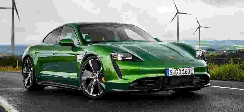 Porsche Taycan, 100% elétrico, nem foi lançado no Brasil e já tem um exemplar da versão Turbo S no País; estreia está prevista para este ano - Divulgação